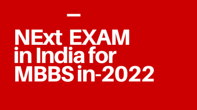 Next exam in India for MBBS