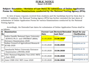 icar 2020 date extended to 15.06